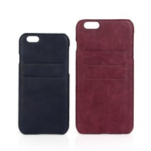 Personalised PU leather and PC phone case for iPhone 6