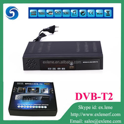 Hot sale in Uganda free to air decoders dvb t2 receiver