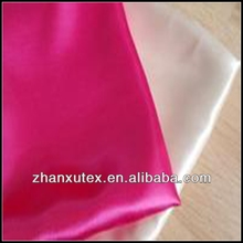100% polyester wedding decoration satin fabric