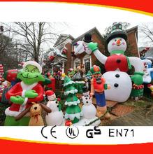 Yard inflatable Christmas Decoration/Christmas tree/Christmas snowman/yoda/reindeer