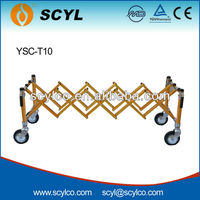 YSC-T10 Funeral Aluminum alloy compact coffin support church truck