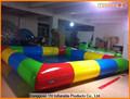 colorida pvc encerado grande diversões inflável piscina atacado