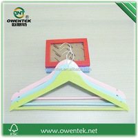 colorful handmade wooden decorative coat hanger