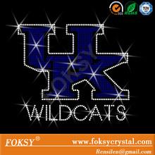 University of Kentucky Wildcat Bling UK rhinestone transfer designs Custom rhinestone tshirt