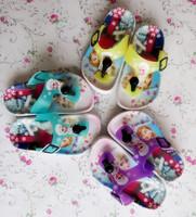 Latest Design Slipper Sandal Frozen Elsa Shoes Cheap Wholesale Shoes In China