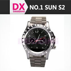 NO.1 SUN S2 1.22 Inch 1.3MP Camera Bluetooth 3.0 IP67 Dustproof Waterproof Smart Watch