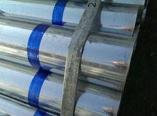 hot dip galvanized steel pipe trading, Zinc Galvanized Round Steel Pipe for building material