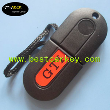 """Cheaper car key shells for vw key blank with """"GTI"""" writing on cover"""