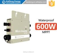 24V 110V micro grid tie inverter for solar panels,600W grid connect solar converter,22-60V DC-90-130V/190-260V AC