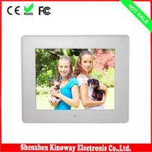 Alibaba wholesale digital frame 8 inch LED/LCD screen picture frame ABS picture slide viewer