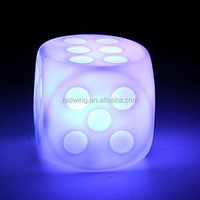 Light Up Customized LED Dice Flashing