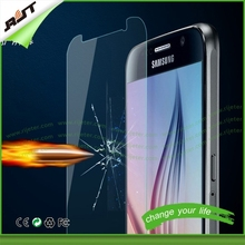 Hot new products for 2015 mobile phone accessories for Samsung galaxy S6 edge tempered glass screen protector