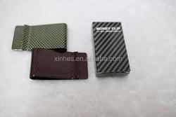 Stock carbon fiber money clip/bill clip/cash clip/purse/wallet