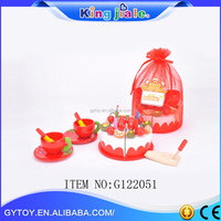 2015 New design low price wooden cake educational toy