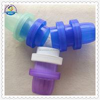 Liquid Laundry Detergent Bottle Caps With Plastic Insert