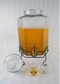 frasco de vidrio dispensador