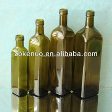 dark green olive oil bottle 250ml/500ml/750ml/1000ml