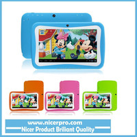 7 inch Quad Core Children Kids Tablet PC 8GB RK3126 Android 4.4 MID Dual Cam & Educational Games App Birthday Gift
