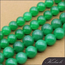 Sale jewelry diy 10mm Malaysian green jade price