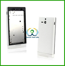 Full Housing Cover Replacement Back Cover Complete Part for Sony U ST25i ST25 (White)