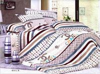 100% cotton bed sheet set, bedding