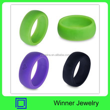 Fasion Mens Silicone Wedding Rings for Sport