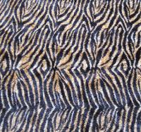 Animal fur printed PV fabric for sofa covers