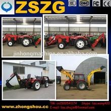 La garantía de comercio zszg zl-06 bajo precio profesional 25hp/35hp tractor retroexcavadora cargadora