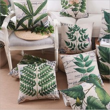 Wholesale Digital Printing Linen Cushion Cover