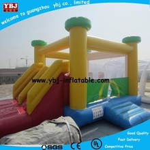 Inflatable Bouncer Moonwalk With Slide Jumping Castle/ commercial air bouncer inflatable trampoline