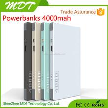Marvel universe 4000mah external wireless ABS+Aluminum power bank