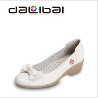 DALIBAI new arrival 1279 genuine leather casual shoes for women in 2013 large shoe sizes for women uk