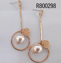 india zircon dangle earrings
