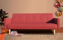 High Quality Modern Fabric red Sofa bed
