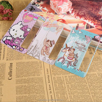 Hot sell 2.5D cartoon coloful mobile phone tempered glass screen protector for iPhone 6
