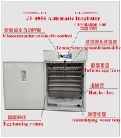 High hatching rates industrial incubator/used chicken egg incubator for sale