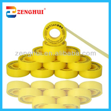 high demand India products color taflon tape yellow ptfe for water pump used