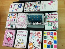 Hello Kitty leather case for ipad mini with holder