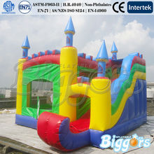 Commercial Jumper Inflatable Bouncers Houses With Slide Combo Games