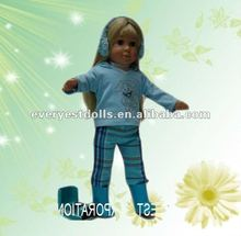 "2012 new design 18"" vinyl girl dolls"