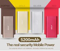 mobile phone power bank 5200mah portable power bank mobile power supply
