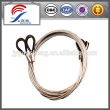 Alta resistencia cuerda de alambre de acero de la honda