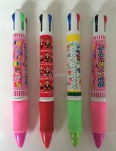 Hot selling big logo printed code plastic pen