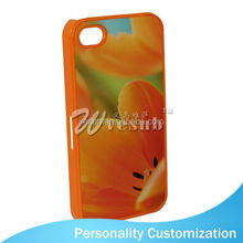 New Design 2015 Hot Sell 3d Phone Case Of Sublimation Blanks for iphone 4