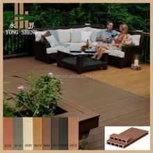 composit decking price outdoor waterproof wooden flooring