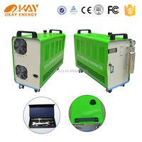 Oxyhydrogen generator welding CE, FCC, ISO approval Okay Energy OH600 oxyhydrogen plasma welding machine