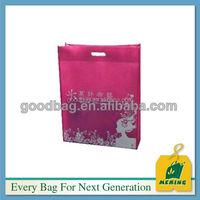 economic plastic fancy non woven shopping bags
