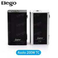 Stock Offer!!! IJOY Asolo 200W Box Mod With Temperature Control Design