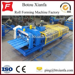 Metal Coil Glazed Tile Roof Panel Roll Forming Machine