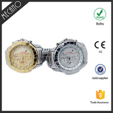 2015 more popular wholesale cheap watch and japan movt gold watch